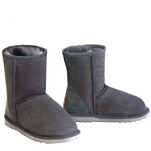 Classic Short Ugg Boots - Grey