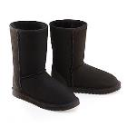 Deluxe Classic Short Ugg Boots - Black