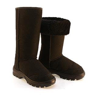 Offroader Tall Ugg Boots - Black