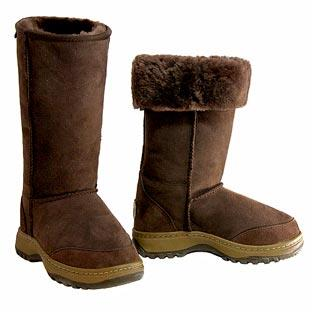 Offroader Tall Ugg Boots - Chocolate