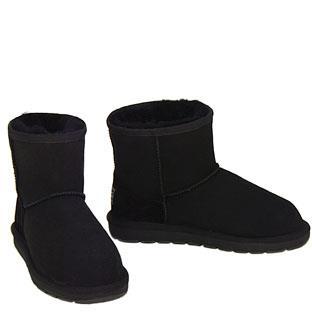 Outback Mini Ugg Boots - Black