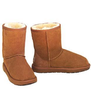Outback Short Ugg Boots - Chestnut