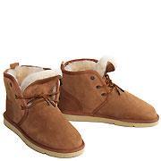 Oxford Sheepskin Ugg Boots - Chestnut