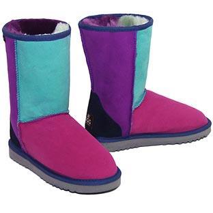 Patchwork Ugg Boots Jewel