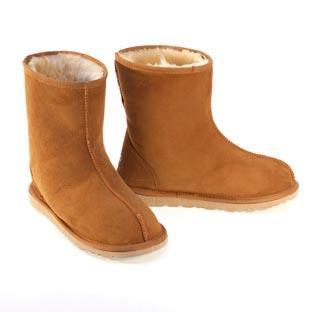 Rip Short Ugg Boots - Chestnut