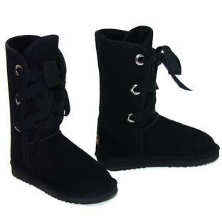 Roxane Mid Ugg Boots - Black