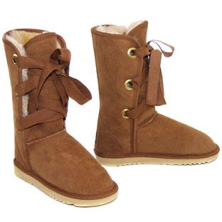 Roxane Mid Ugg Boots - Chestnut