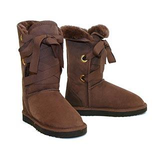 Roxane Mid Ugg Boots - Chocolate