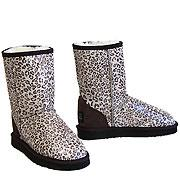 Safari Ugg Boots Leopard Chocolate