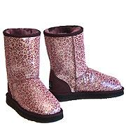 Safari Ugg Boots Leopard Purple