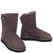 Shearling Pola Ugg Boots - Mashroom