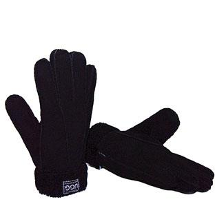 Sheepskin Gloves Black