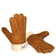 Sheepskin Gloves Chestnut