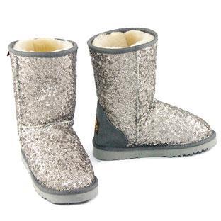 Shimmer Short Silver