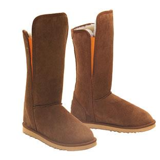 Slim Tall Ugg Boots Chestnut Orange