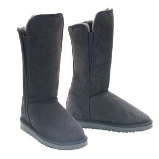 Slim Tall Ugg Boots Grey