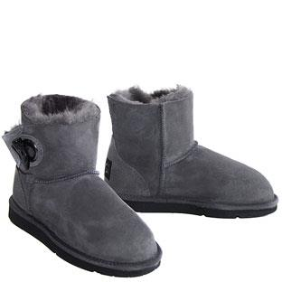 UGG Australia Upside Lace up Boots Grey Suede