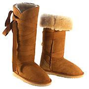 Wicked Wrap Ugg Boots - Chestnut